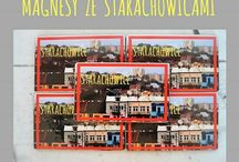 magnesy na lodówkę ze Starachowicami