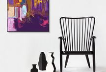 Abstract Art Prints (from my originals)