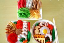 jídlo z plsti