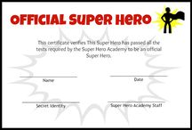 super heroes / summer reading program ideas / by Debra Fejedelem