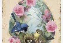Pájaros de época
