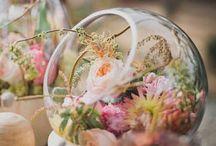 esküvő & asztaldísz