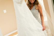 Julie Evans bride pics