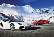 Supercars in the Snow / Supercars in ski resorts