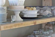 inspiração: cozinhas / Inspiração para deixar o coração do lar ainda mais bonito.