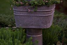Galvanized tub idea