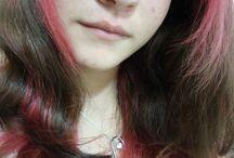 My Colorful Hair / @anab.lu.e