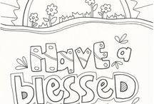 coloring page Spring and Easter