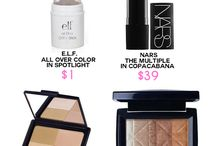 Makeup dupes / makeup dupes. Mac dupes, bargain alternatives to high end beauty products.