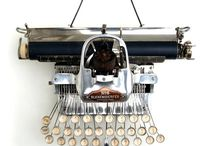 Typewriter Love. / Beautiful typewriters.