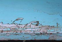 Annie Sloan Chalk Paint chippy look shabby / MonikaArt