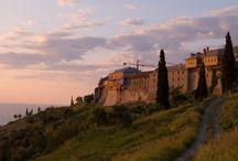 Agio Oros Mount Athos Pyhä Vuori