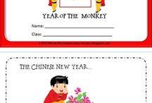 Chinese new year 2016 / Craftivities