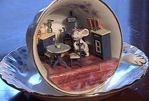 Мир в чашке (Teacup scene)