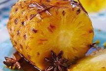 Frutas assadas