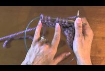 Useful Knitting & Crochet & Craft Technique Tutorials / How-to videos for weird stitch techniques / by Sara Williamson