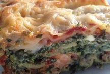 Epinard lasagnes