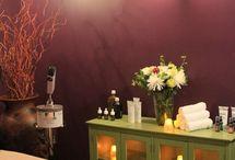 masážní místnost, salon