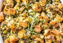 Thanksgiving/Christmas Dinner / Holiday meal ideas