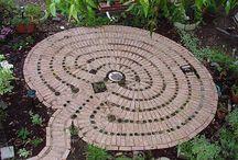 Meditation gardens and labyrinths