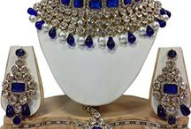 Wedding Bridal Kundan Beautiful Jewelry Necklace Set