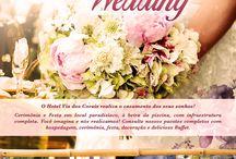 Casamento & Wedding / O Hotel Via dos Corais realiza o casamento dos seus sonhos!