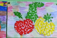 Práce mojich žiakov / Výtvarné práce z hodín výtvarnej výchovy od žiakov 4. až 7. ročníka