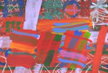 Albert Irvin / Born in 1922 in Bermondsey, Albert Irvin is well known to a wide public for his exuberant, colourful works - paintings, watercolours and gouaches, some on an enormous scale.