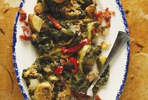 Greens recipes to try / by Deirdre @ Grabbing the Gusto