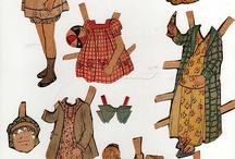 Paper dolls kağıt bebek / Paper dolls