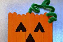 Hallowe'en crafts