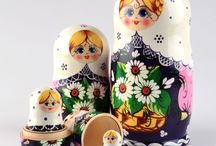 Matryoshka/Nesting Dolls / by Shaylyn Sawyer