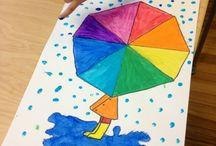 colour wheel ideas