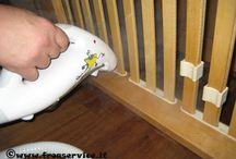 Disinfestazione vapore  / Disinfestazione vapore secco saturo surriscaldato a 180° per debellare l'infestazione delle cimici dei letti