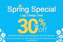 Spring Special Logo Design Deal – 30% Off