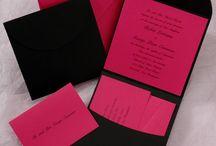 Pink Wedding Invitations / by InvitesWeddings
