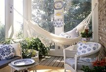 porch ideas / by Sarah Shult