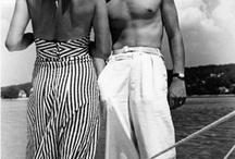 Vintage beach pyjamas