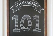 Chalkboard Art / Different ideas for your chalkboard