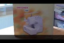 Alles über die Overlock Gritzner 788