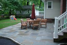 Bluestone / Bluestone is just one of the many varieties of stone we offer for patios, walkways, porches and more.
