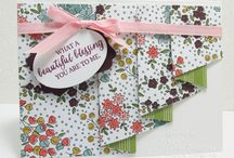Pleated / Drapery fold cards