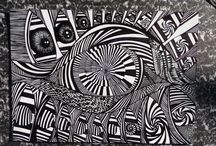 Op Art / drawing