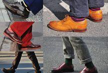 Cum sa asortam sosetele cu pantofii.