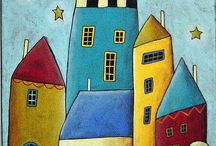 Karla Gerard & another patchwork town