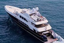 Luxe jachten boot