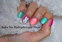 easter nails - wielkanocne paznokcie