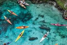 Places to visit and kayak trips