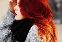 cabellos rojos