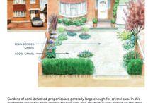 Front garden w off street parking - oxford